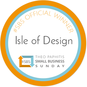 #SBS award badge